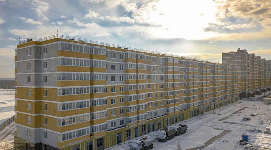 Отчет о строительстве ЖК «Светлоград», январь, 2021г.