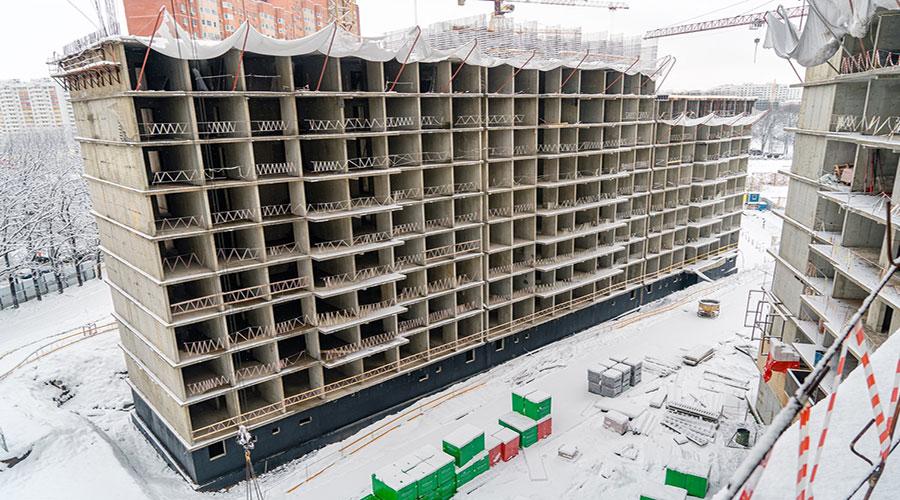 Отчет о строительстве ЖК «Свобода», январь, 2021г.