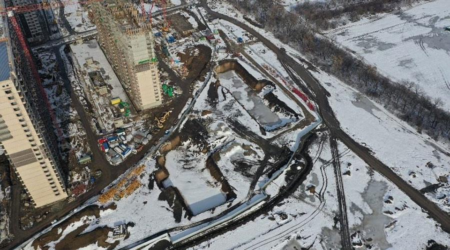 Отчет о строительстве ЖК «Улыбка», январь, 2021г.