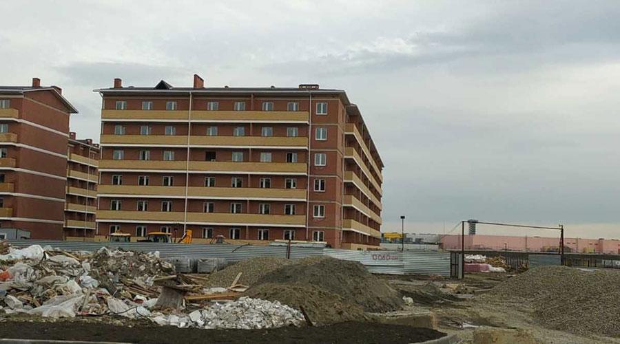 Отчет о строительстве ЖК «ВиноградЪ», январь, 2021г.