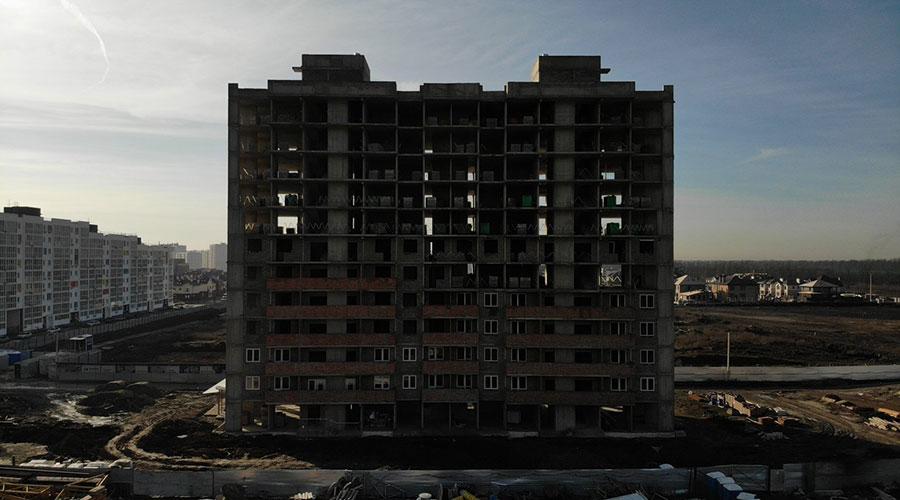 Отчет о строительстве ЖК «Южане», январь, 2021г.