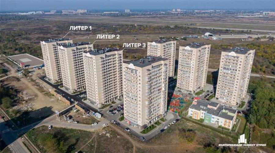 Отчет о строительстве ЖК «Цветы», февраль, 2021г.