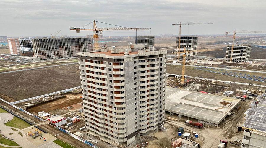 Отчет о строительстве ЖК «Дружный-2», февраль, 2021г.