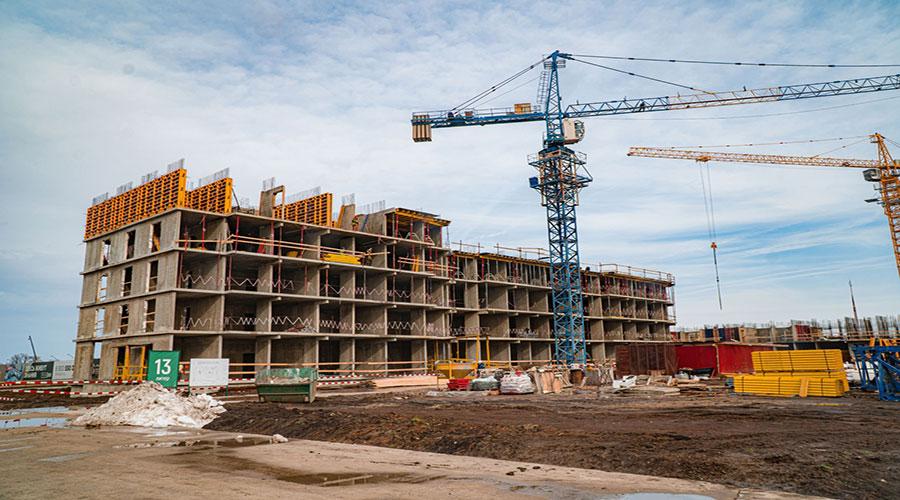 Отчет о строительстве ЖК «Дыхание», февраль, 2021г.