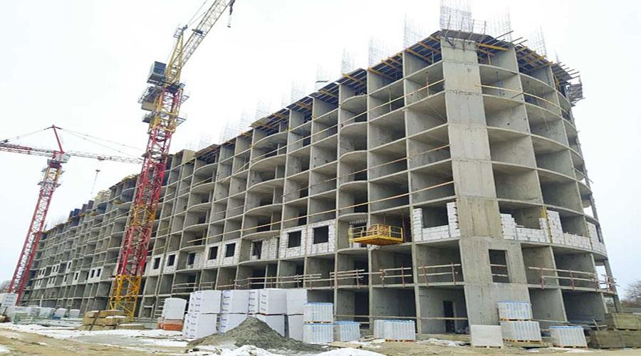 Отчет о строительстве ЖК «Fresh», февраль, 2021г.