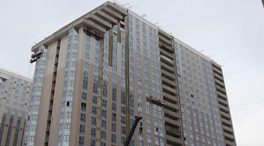 Отчет о строительстве ЖК «Кубанский», февраль, 2021г.