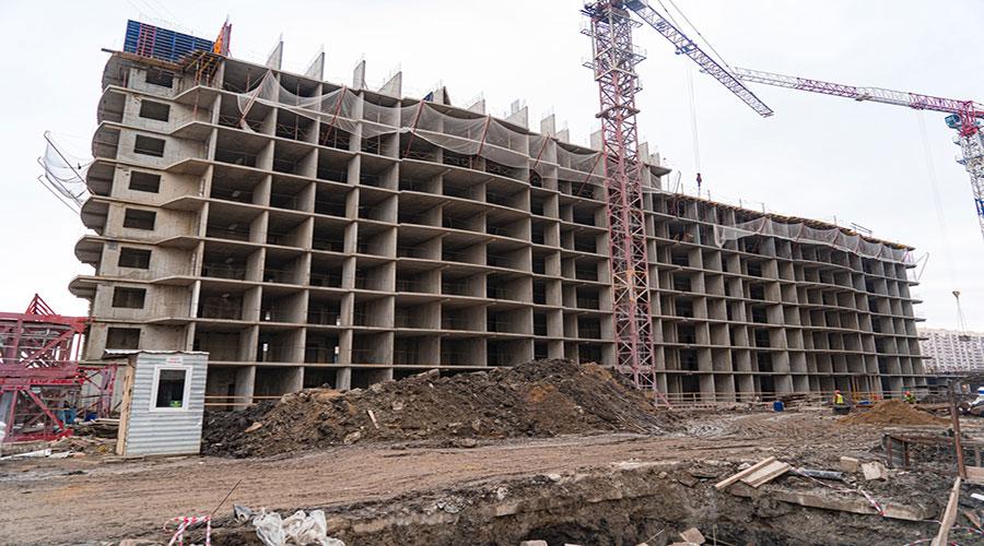 Отчет о строительстве ЖК «Лучший», февраль, 2021г.