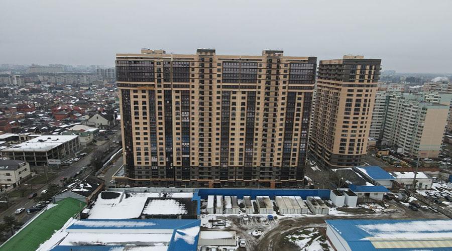 Отчет о строительстве ЖК «Маршал», февраль, 2021г.