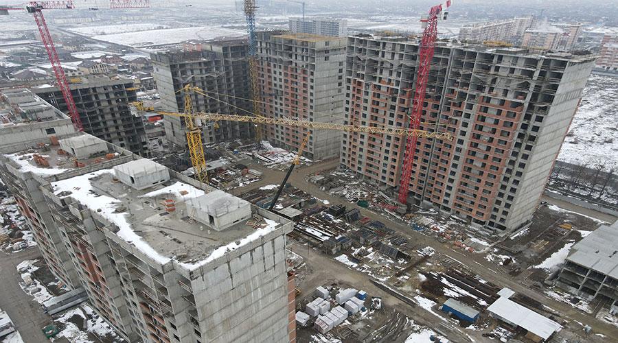 Отчет о строительстве ЖК «Novella», февраль, 2021г.