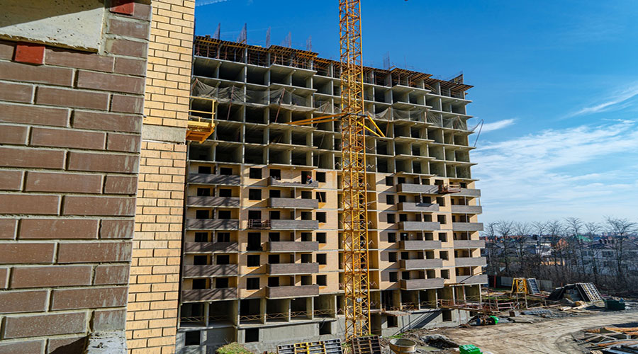 Отчет о строительстве ЖК «Открытие», февраль, 2021г.