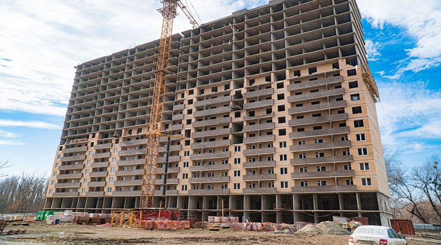 Отчет о строительстве ЖК «Поколение», февраль, 2021г.