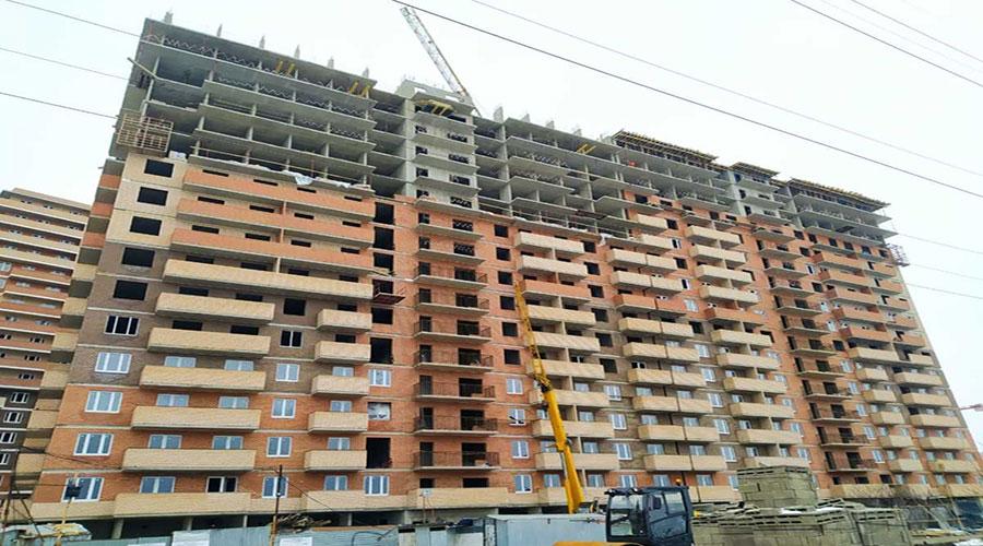 Отчет о строительстве ЖК «Премьера», февраль, 2021г.