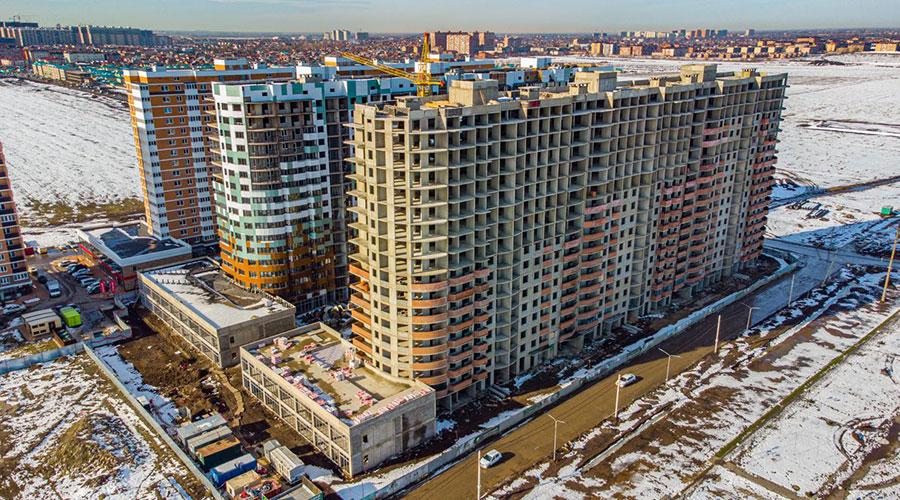 Отчет о строительстве ЖК «Россинский Парк», февраль, 2021г.