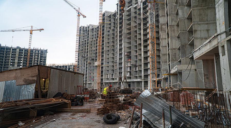 Отчет о строительстве ЖК «Сердце», февраль, 2021г.