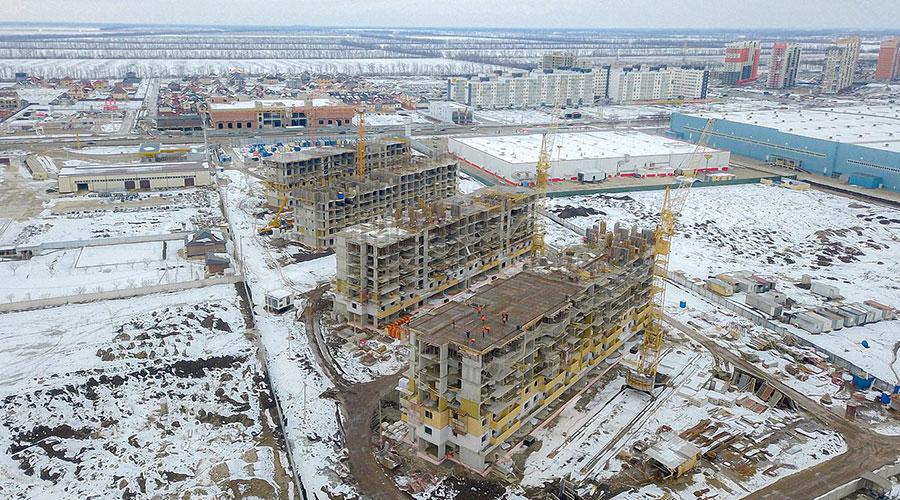 Отчет о строительстве ЖК «Светлоград», февраль, 2021г.