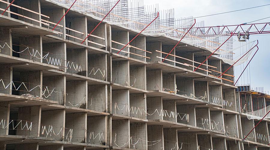 Отчет о строительстве ЖК «Свобода», февраль, 2021г.