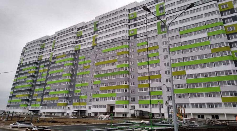 Отчет о строительстве ЖК «Восточно-Кругликовский», февраль, 2021г.