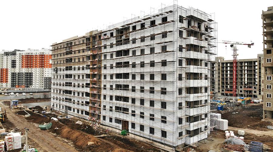 Отчет о строительстве ЖК «Южане», февраль, 2021г.