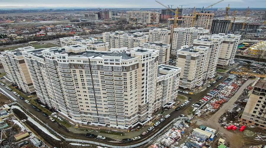 Отчет о строительстве Neo квартал «Красная площадь», март, 2021г.