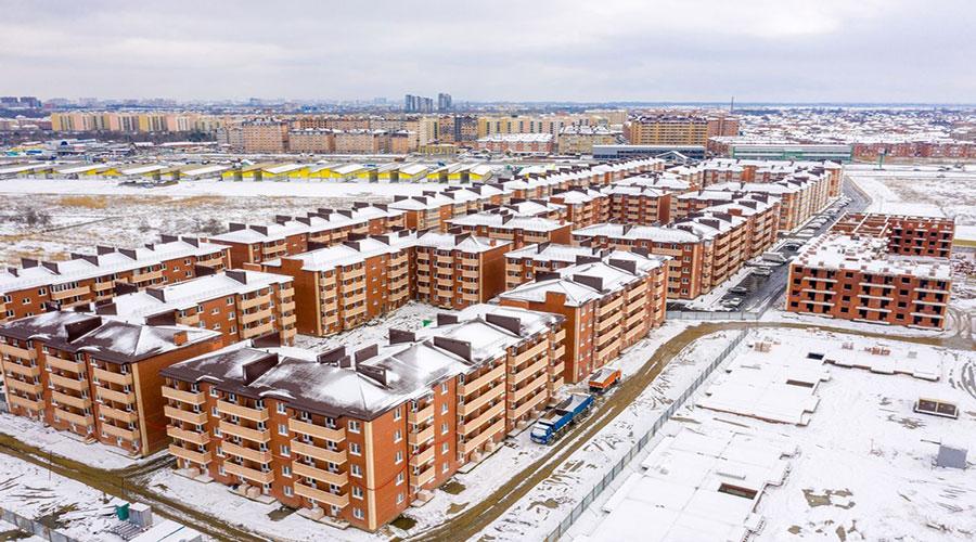 Отчет о строительстве ЖК «ДарГрад», февраль, 2021г.