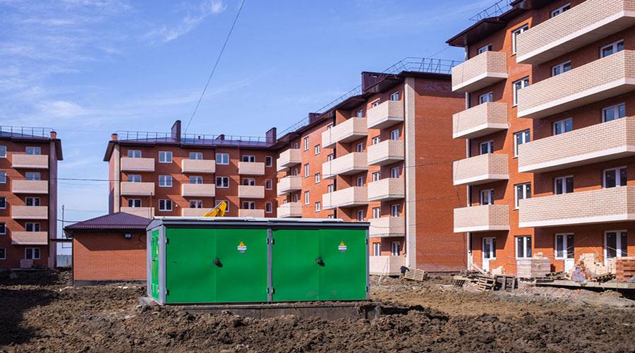 Отчет о строительстве ЖК «ДарГрад», март, 2021г.