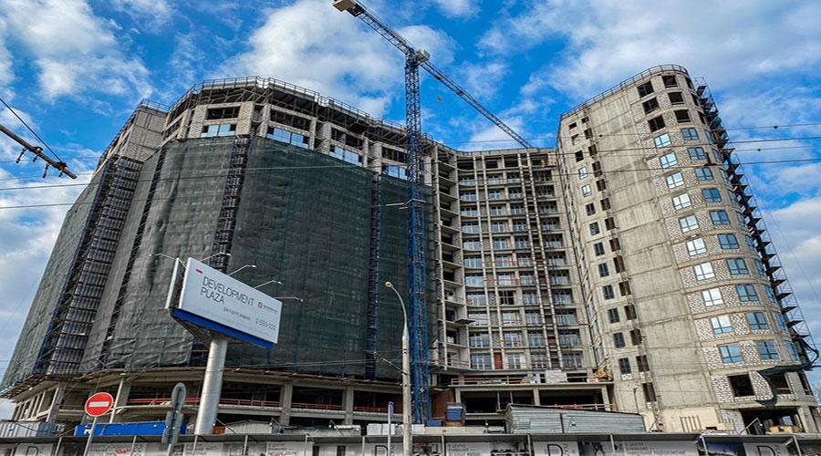 Отчет о строительстве ЖК «Development Plaza», март, 2021г.