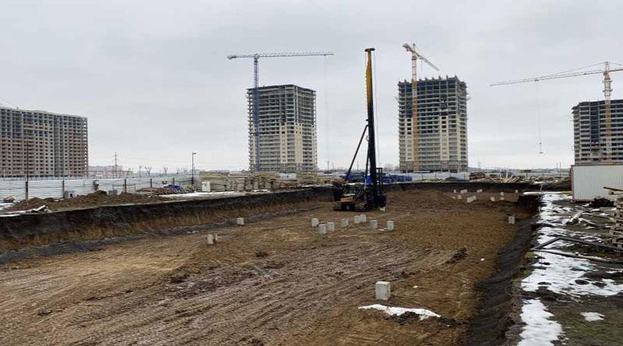 Отчет о строительстве ЖК «Дружный», март, 2021г.