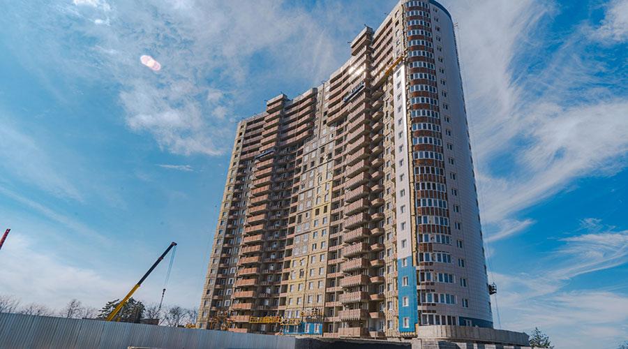 Отчет о строительстве ЖК «Фонтаны», март, 2021г.