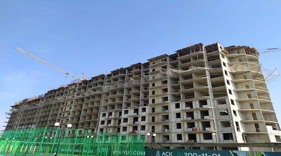 Отчет о строительстве ЖК «Fresh», март, 2021г.