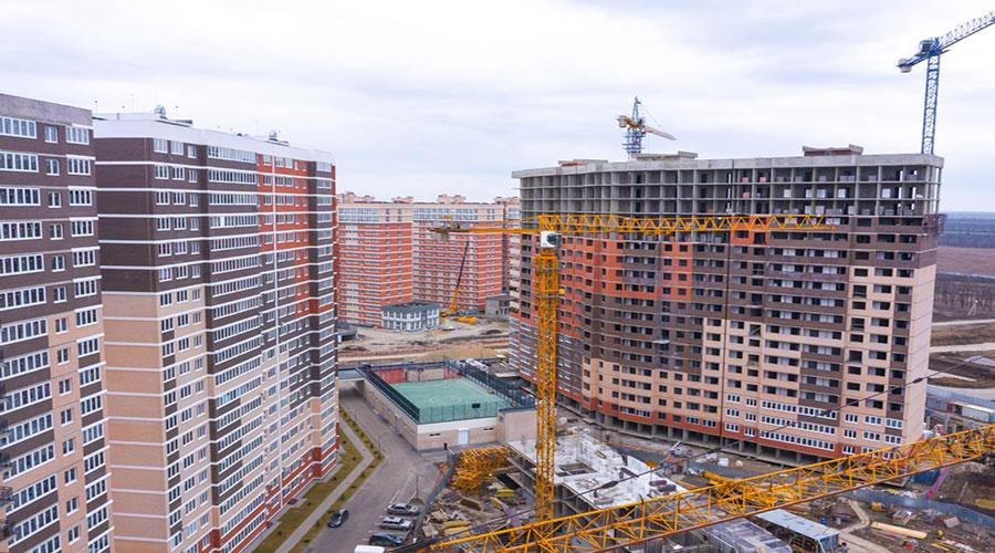 Отчет о строительстве ЖК «Грани», март, 2021г.