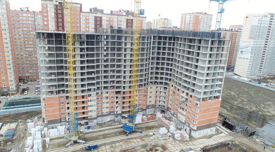 Отчет о строительстве ЖК «Губернский», март, 2021г.
