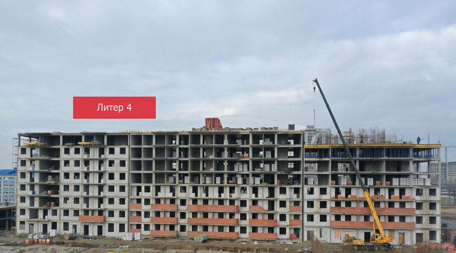 Отчет о строительстве ЖК «Краски», март, 2021г.