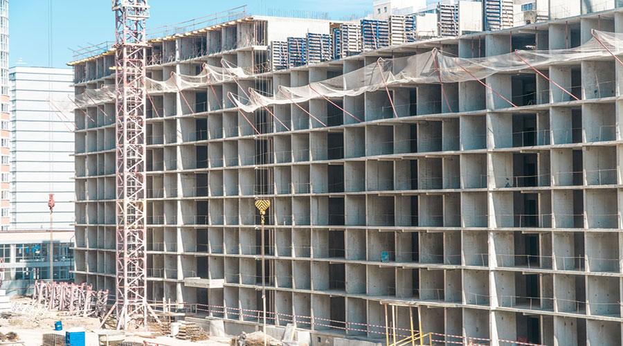 Отчет о строительстве ЖК «Лучший», март, 2021г.