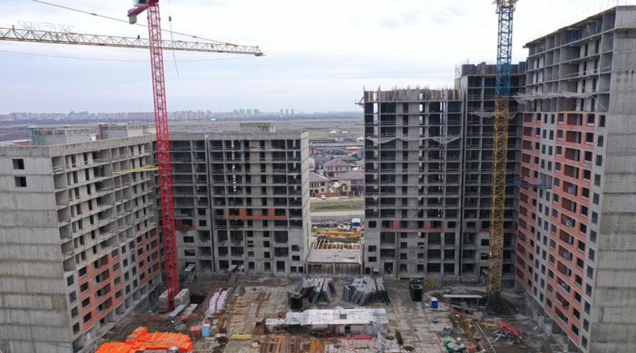 Отчет о строительстве ЖК «Novella», март, 2021г.