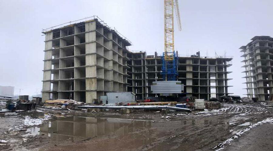 Отчет о строительстве ЖК «Облака», март, 2021г.