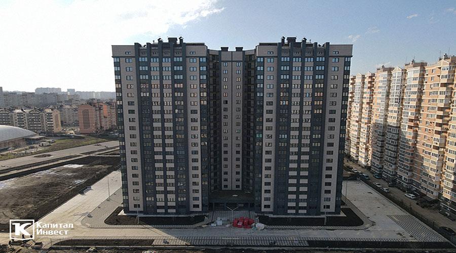 Отчет о строительстве ЖК «Олимп», февраль, 2021г.