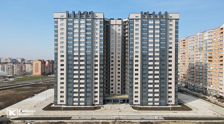 Отчет о строительстве ЖК «Олимп», март, 2021г.