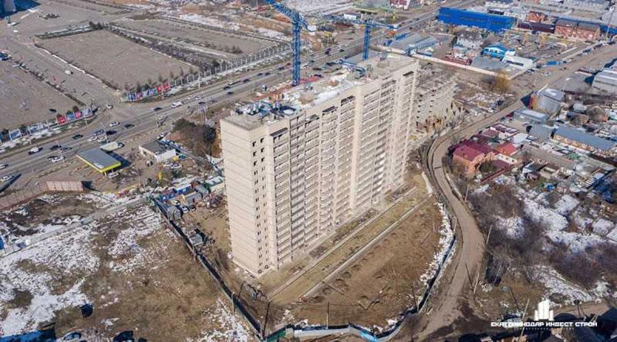 Отчет о строительстве ЖК «Олимпийский», март, 2021г.