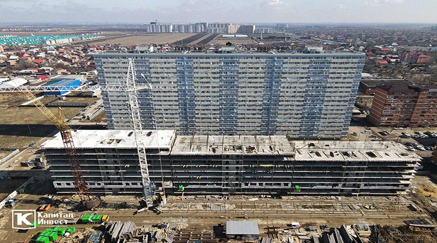 Отчет о строительстве ЖК «Оникс», февраль, 2021г.