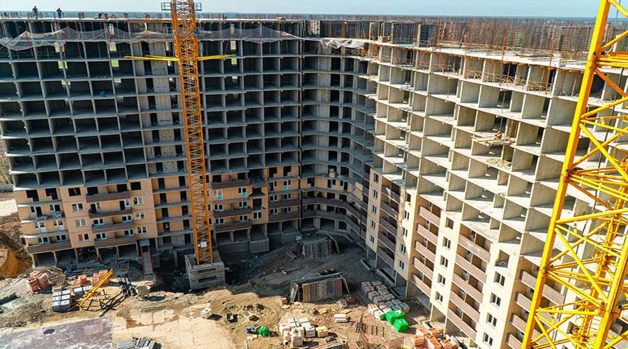 Отчет о строительстве ЖК «Открытие», март, 2021г.