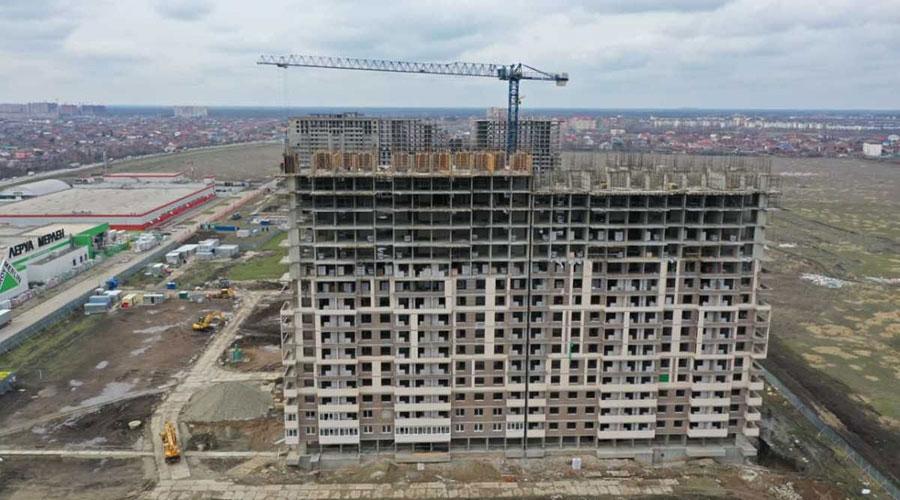 Отчет о строительстве ЖК «Отражение», март, 2021г.