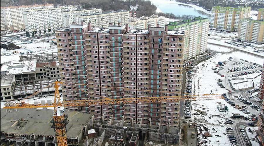 Отчет о строительстве ЖК «Почтовый», февраль, 2021г.