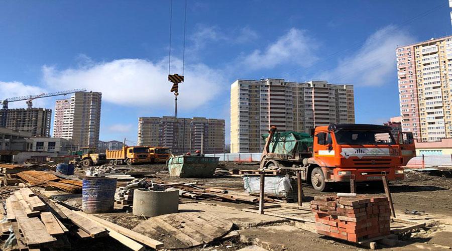 Отчет о строительстве ЖК «Почтовый», март, 2021г.