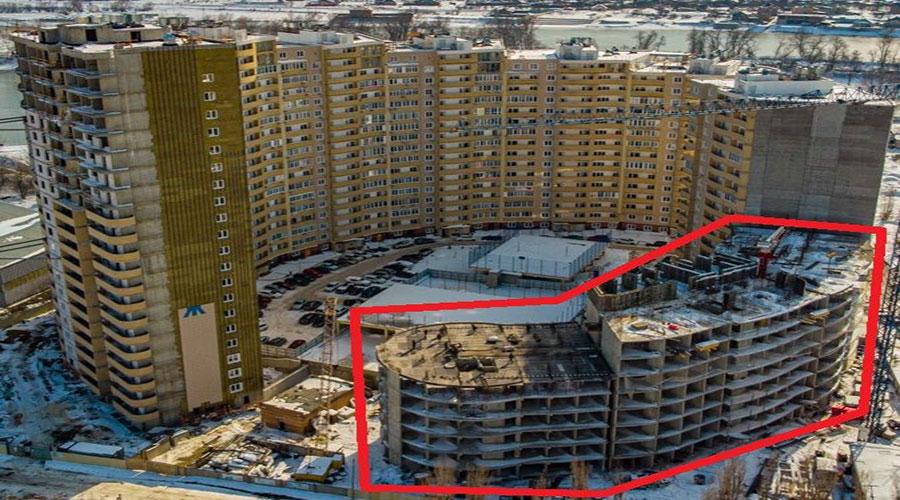Отчет о строительстве ЖК «Радонеж», март, 2021г.