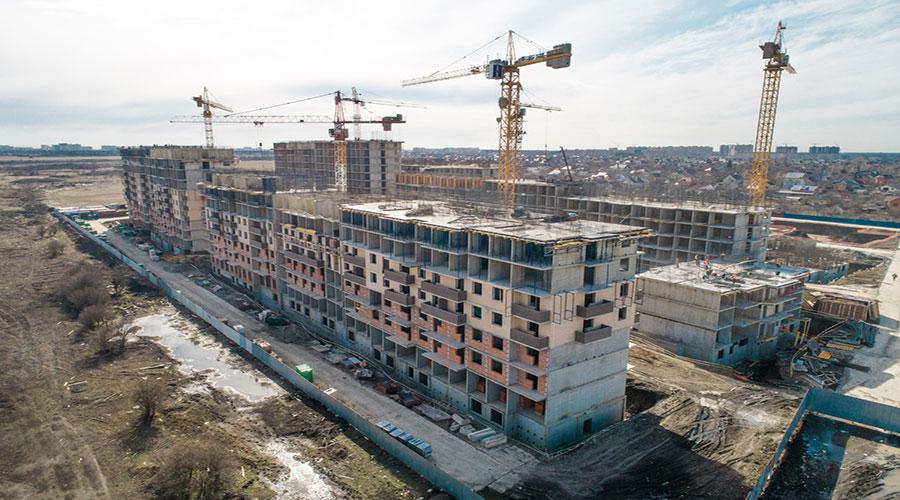 Отчет о строительстве ЖК «Ракурс», март, 2021г.
