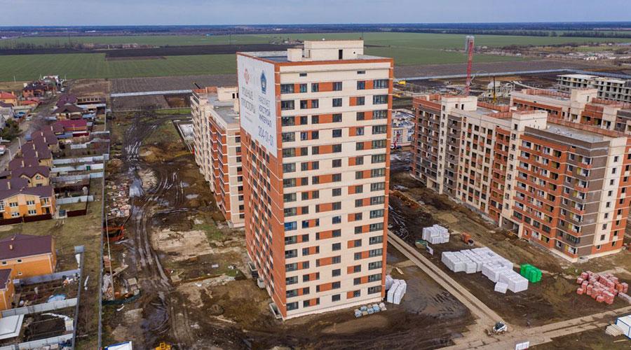Отчет о строительстве ЖК «Родные Просторы», март, 2021г.