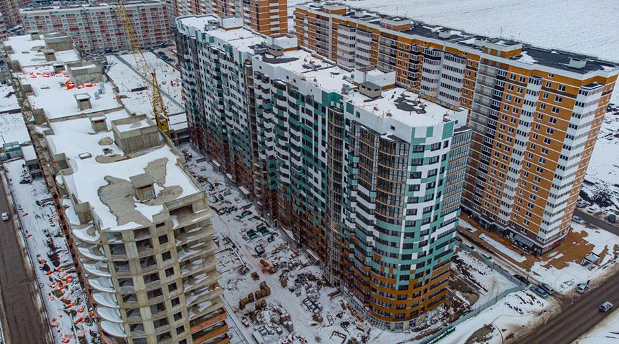 Отчет о строительстве ЖК «Россинский Парк», март, 2021г.