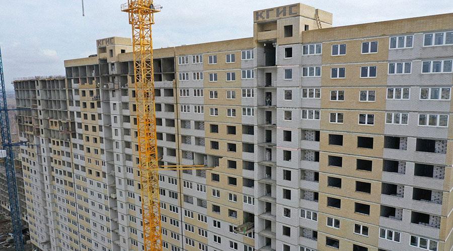 Отчет о строительстве ЖК «Славянка», февраль, 2021г.
