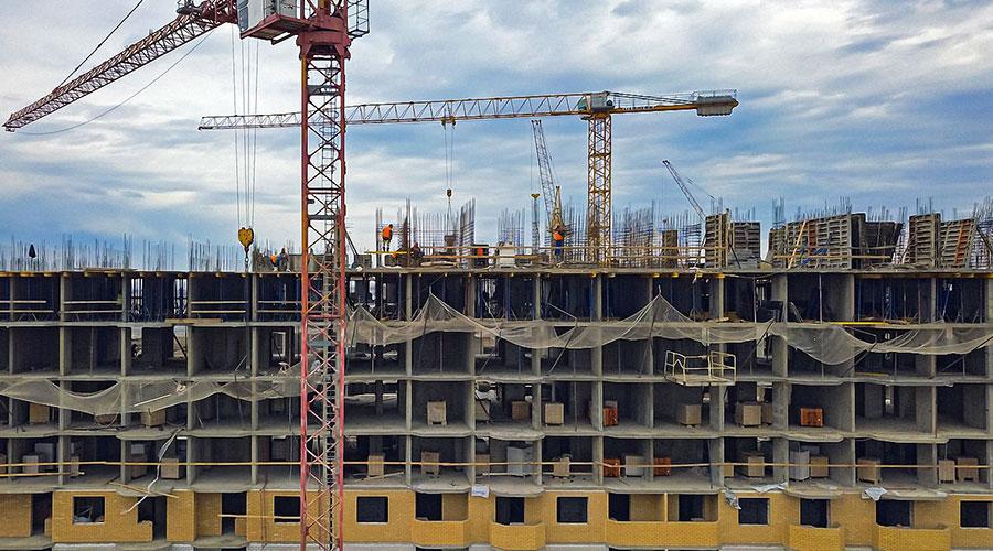 Отчет о строительстве ЖК «Светлоград», март, 2021г.