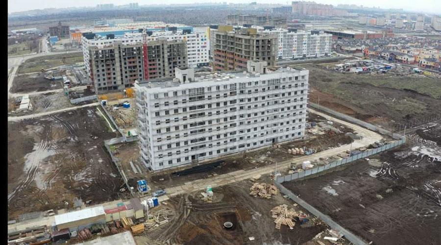 Отчет о строительстве ЖК «Южане», март, 2021г.